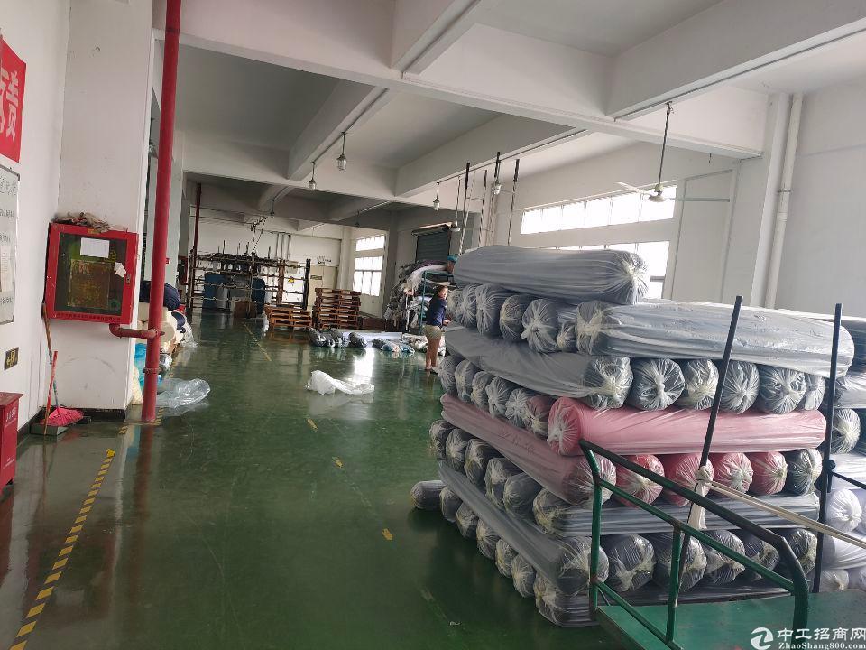 松岗江边新出楼上980平方带装修厂房-图3
