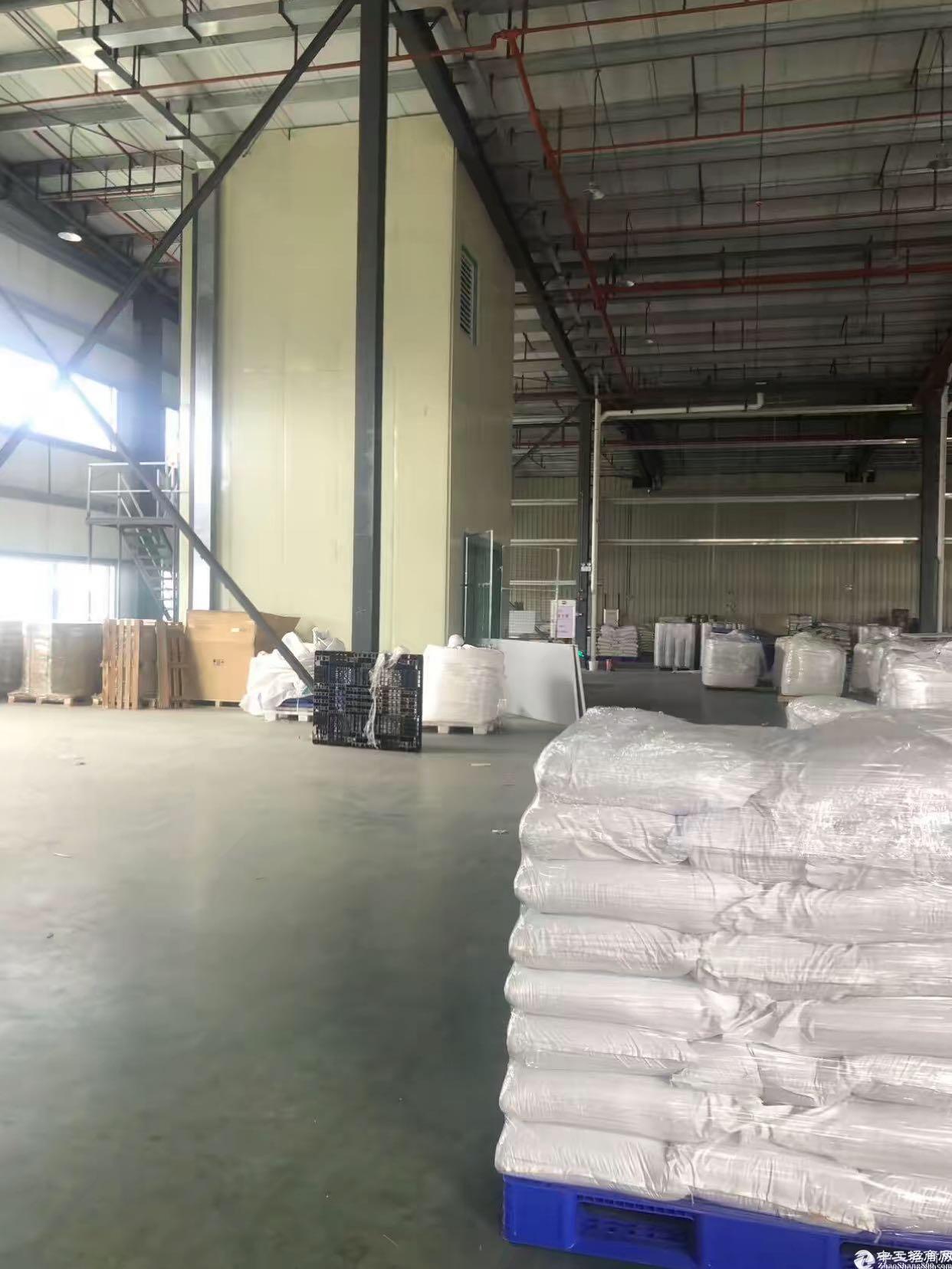广州黄埔开发大道物流园6000㎡仓库出租可分租带装卸台层高9