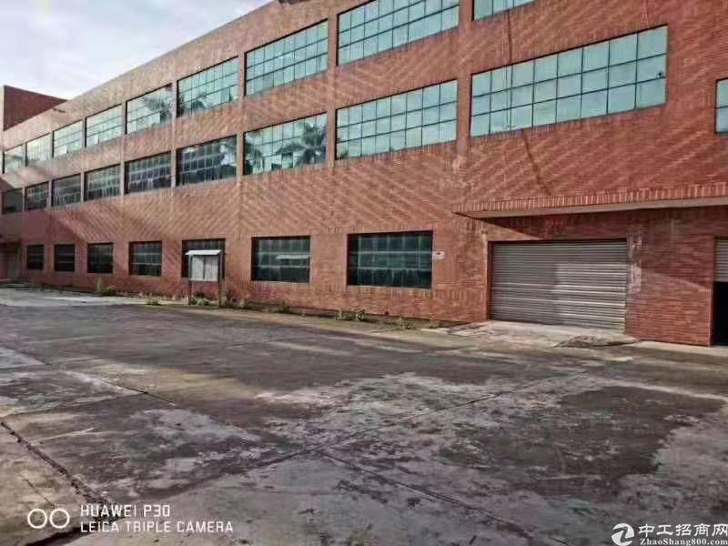 塘厦近常平新出厂房4600平方,原房东带绿化厂房