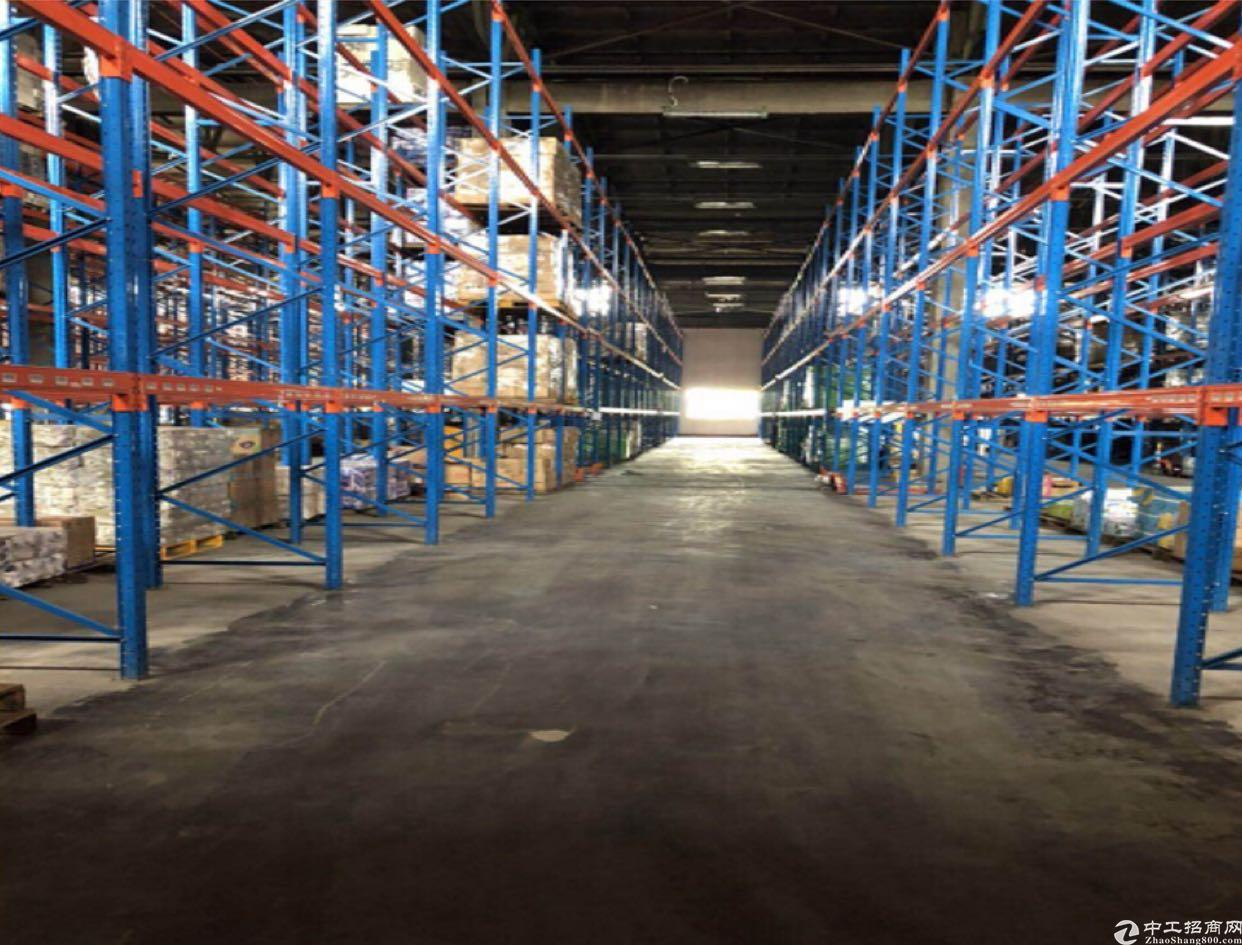 清溪高速出口300米2万平米物流园仓库出租有卸货平台