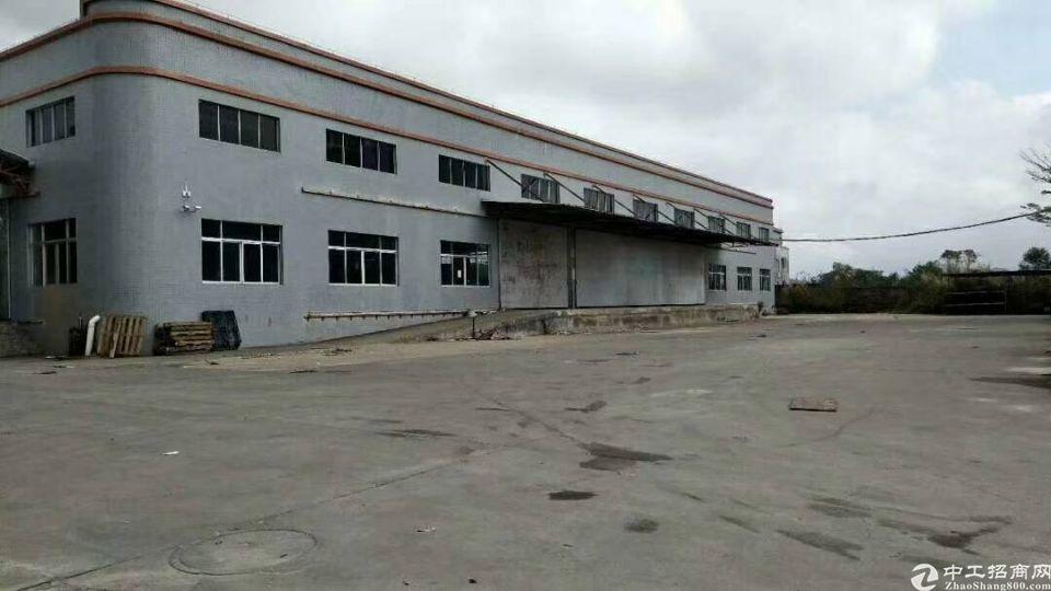 惠州大亚湾新出独院钢构厂房单一层4000平证件齐全可办环评。