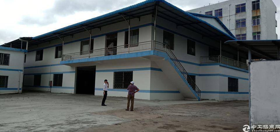 大岭山新出占地6亩建筑4200平米全新国有厂房低价急出售