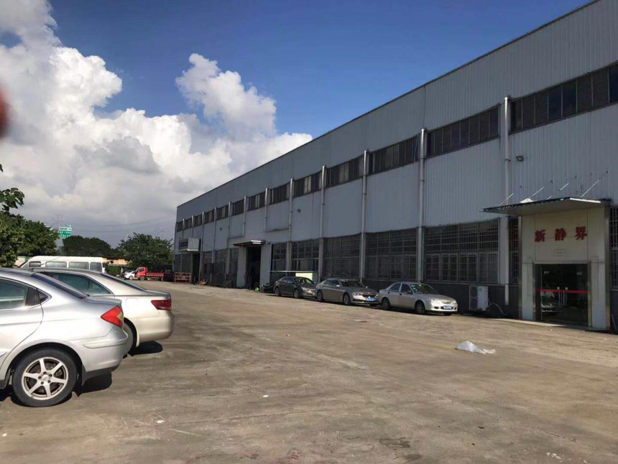 广州市黄埔经济开发区单一层15米高原房东红本钢构厂房出租