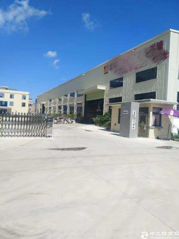 惠阳区沙田镇独院单一层钢构厂房出租8000平方空地大