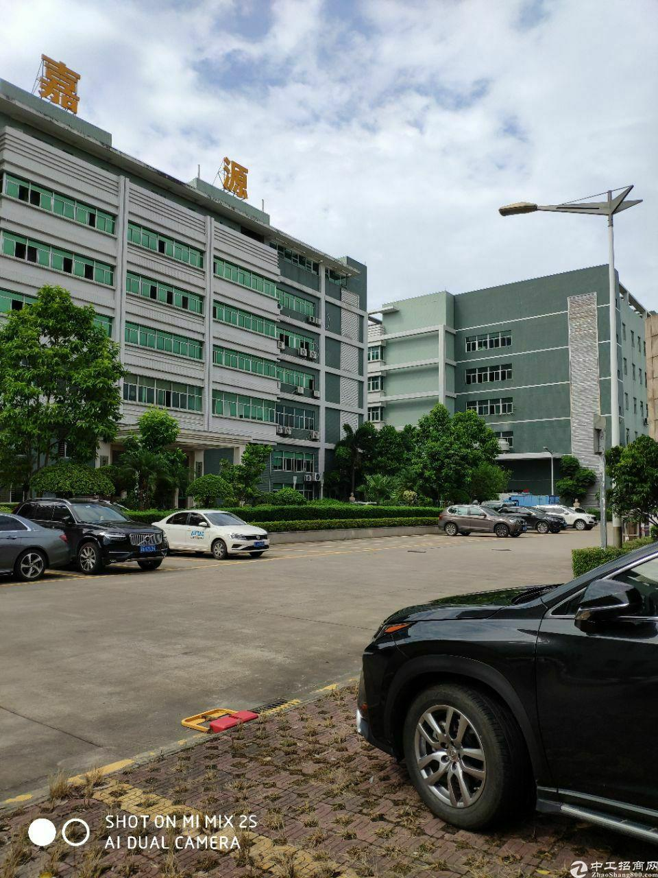 广州增城国有双证花园式4300平米厂房出售