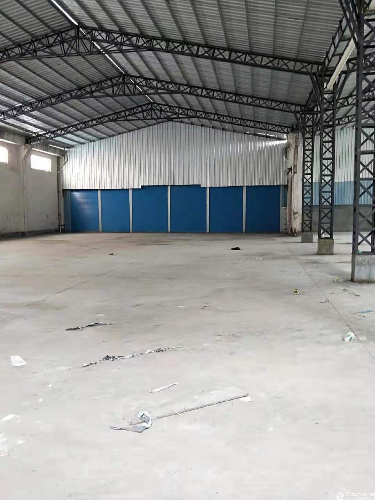 中堂镇新出单一层原房东厂房1600方