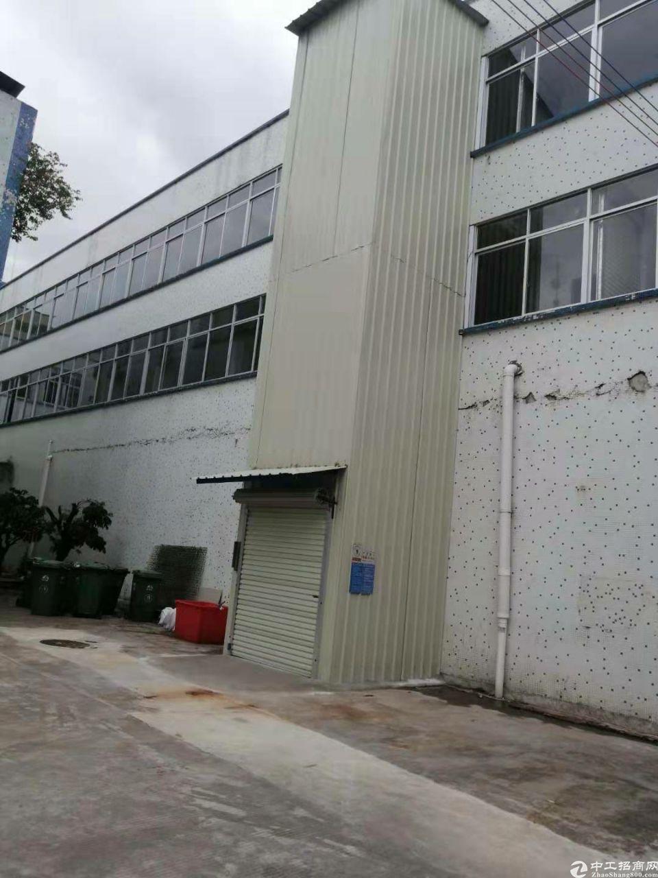 白云区嘉禾街道望岗工业区1000平二楼独院标准仓库厂房出租