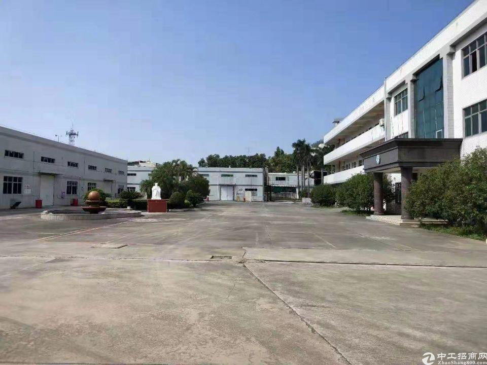 广州黄埔区占地21680㎡建筑17647㎡ 国有双证厂房出售