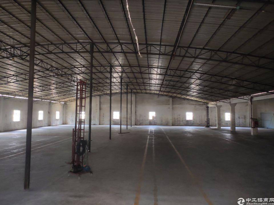广州市白云区太和龙归新出全新钢构厂房可分租