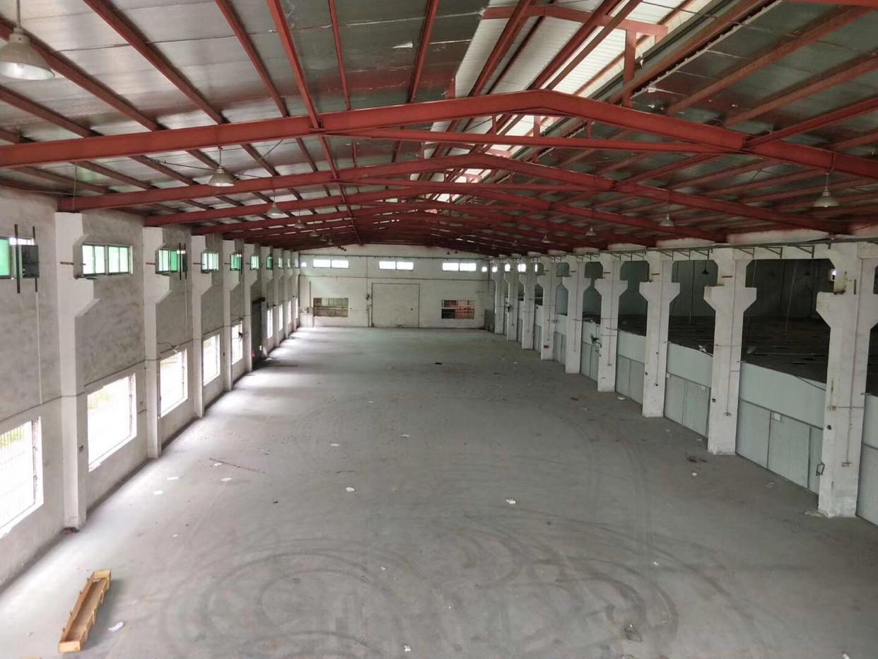 1万平米原房东独院钢构厂房出租十年合同可包租