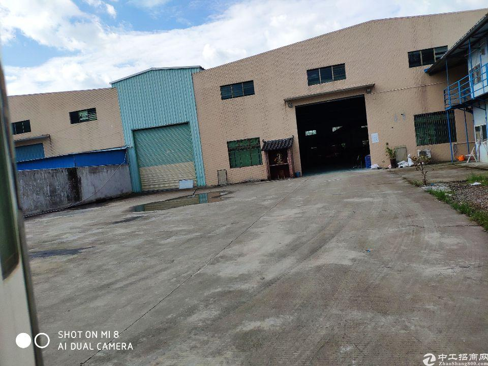 博罗县石湾镇带行车独院经典厂房证件齐全-图2