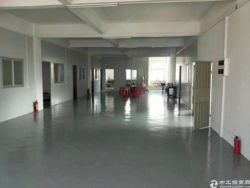水口镇龙湖新出楼上厂房仓库出租,面积900