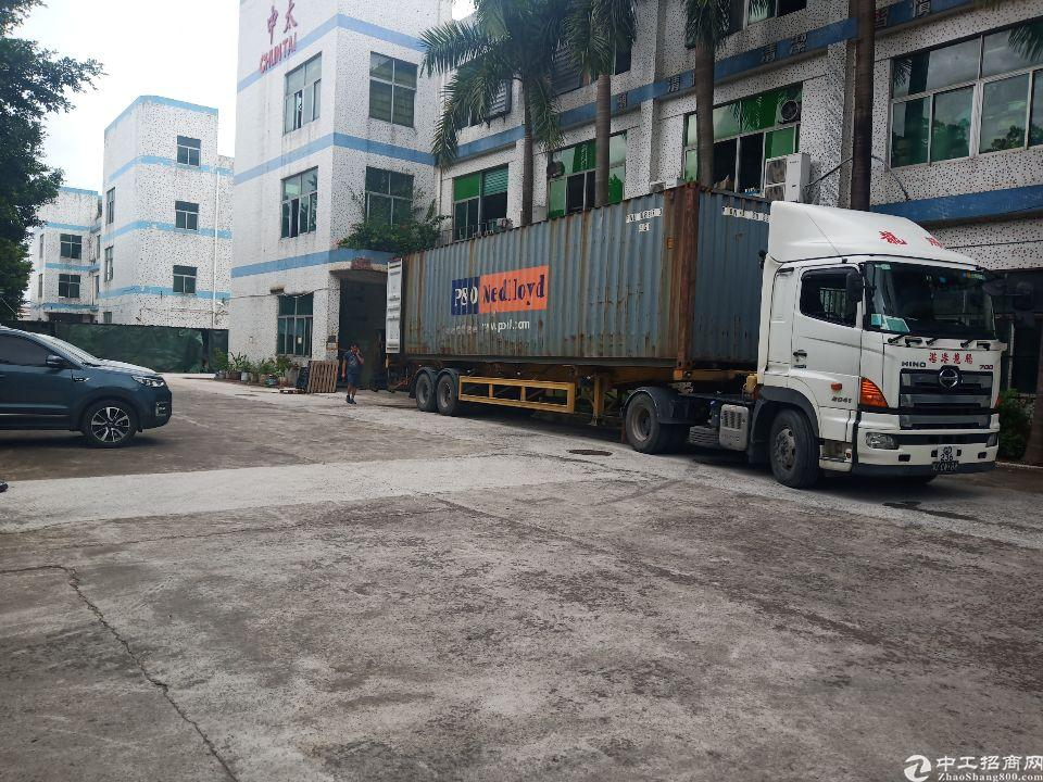 龙岗平湖富民工业区3楼500平米厂房出租