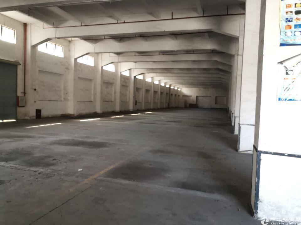 松山湖华为旁标准物流仓库出租带卸货平台