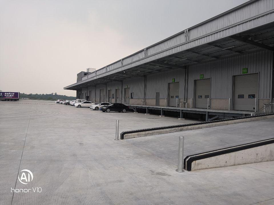 双流带卸货平台标准物流仓库,高度11米,有消防喷淋,证件齐全
