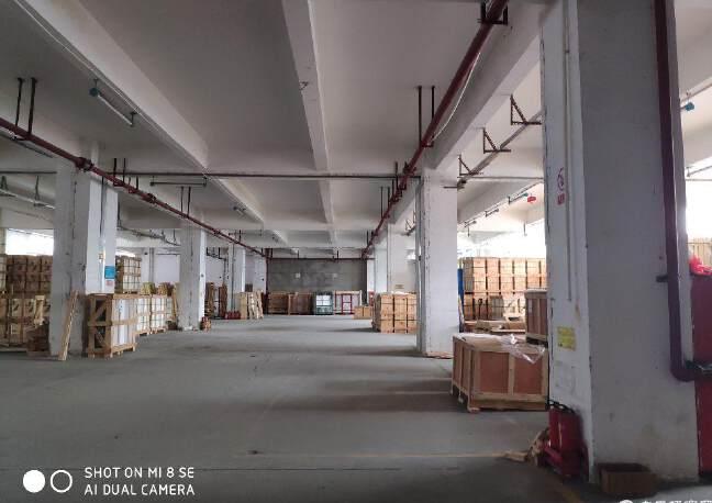 龙华大浪福龙路告诉出口大型工业园一楼1300平方招租