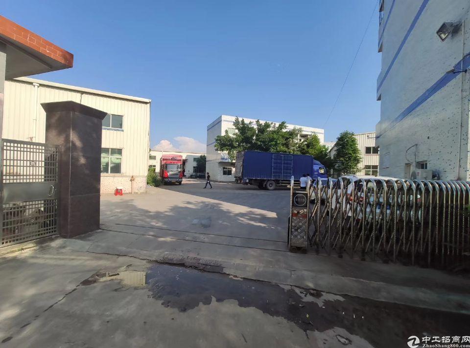 惠阳新出独门独院钢构厂房3600平证件齐全可办环评。