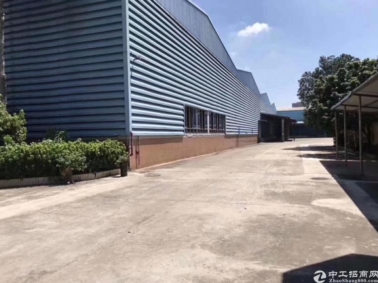 福永仓库16000平、有卸货平台