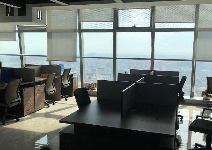 长安甲级豪华装修写字楼318平,楼层高,采光通透,配套齐全,图片9