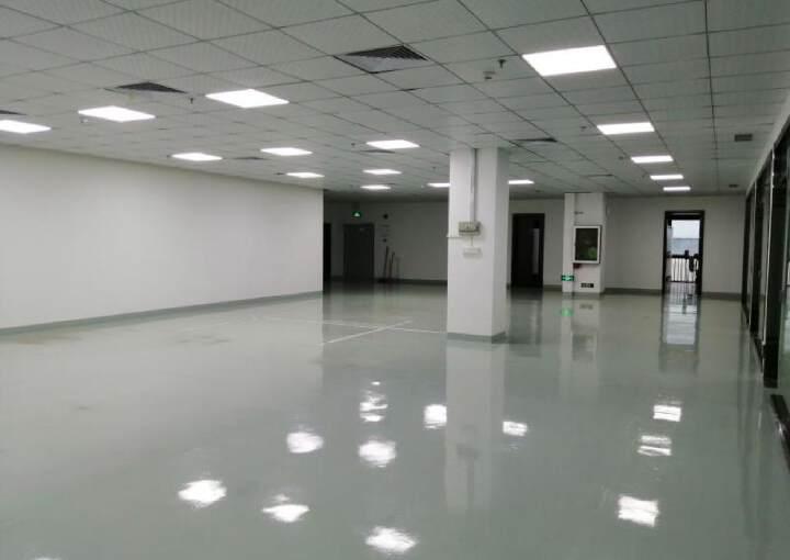 石岩塘头松柏路边开发商直租楼上1100平精装出租图片8