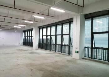 石岩塘头松柏路边开发商直租楼上1100平精装出租图片5