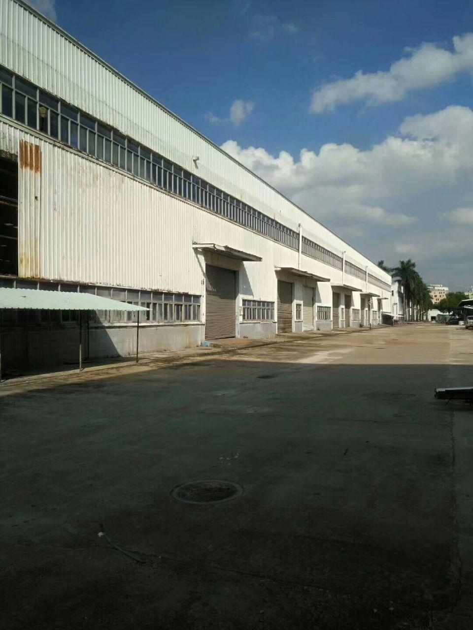 坪地原房东实际面2000平方物流仓库出租高12米