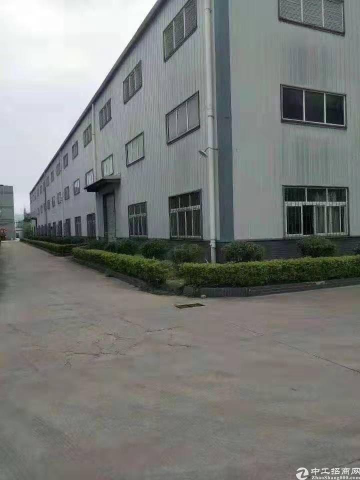 东莞黄江有原房东分租独栋12米高重型钢构4500平可分带行车