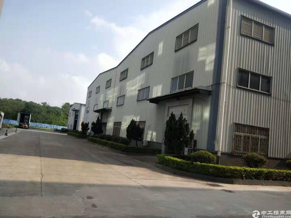 黄江滴水12米单栋钢构出租可低价转让50台注塑机