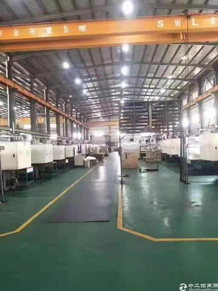 黄江镇中心成熟工业园区独院钢构招租,地苹漆,形象好