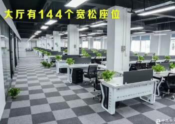 龙华清湖单层面积1400平方带装修办公招租图片2