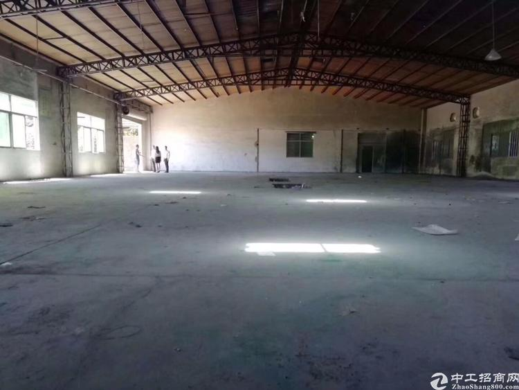 万江上甲独门独院仓库1500平米好进拖头6.5米高