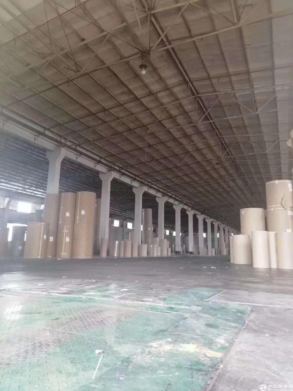 塘厦标准仓库42000平方带卸货平台,大小分租