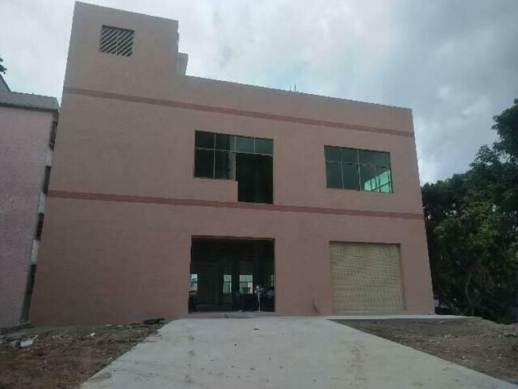 博罗县杨村新出一楼6米证件齐全标准厂房1680平招租