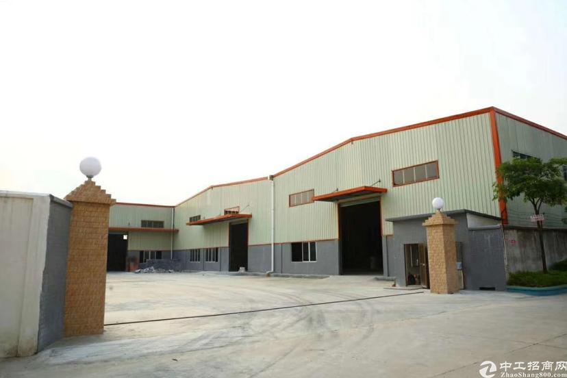 全新独院钢结构实际面积4600平方空地3000平方