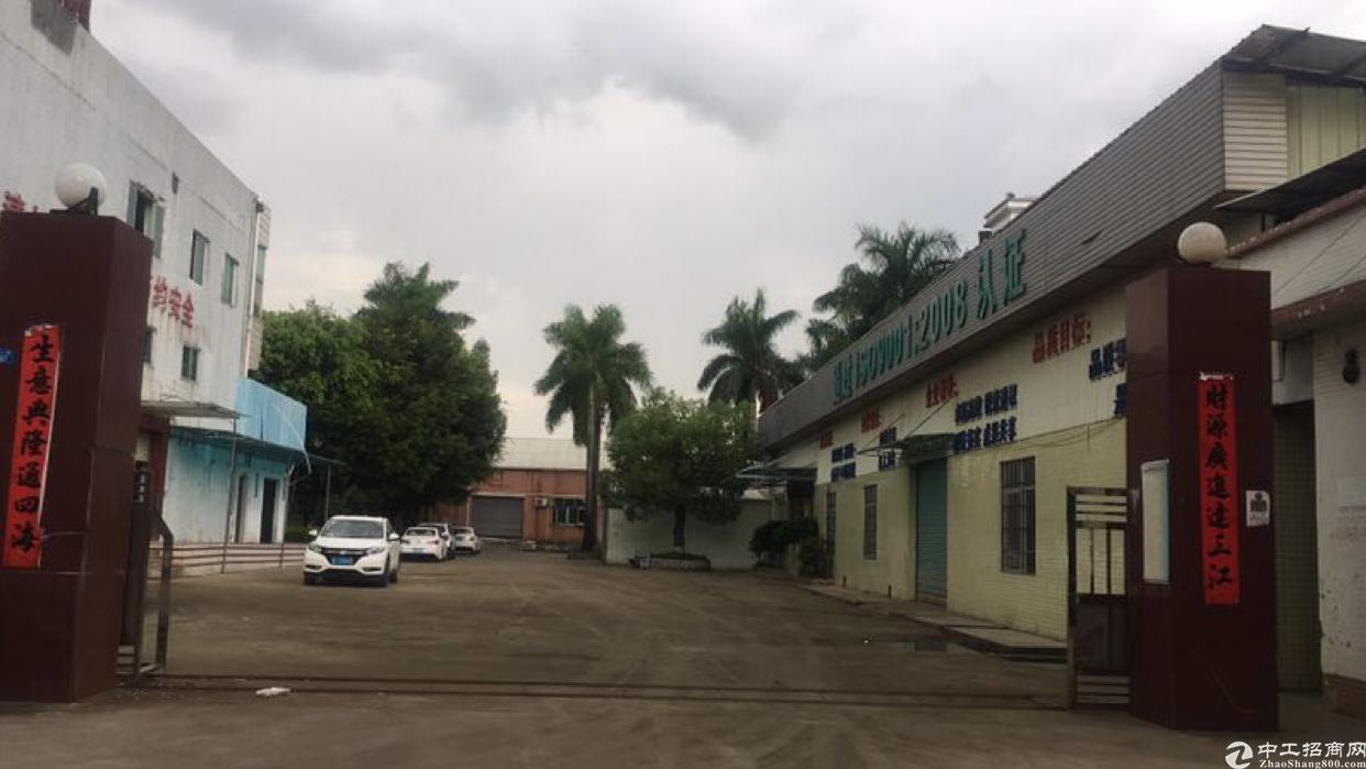 博罗龙溪镇出售占地3800㎡单一层不动产权证厂房