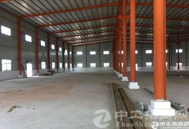 博罗县园洲原房东独院入驻就可生产单一层4000平钢构招租