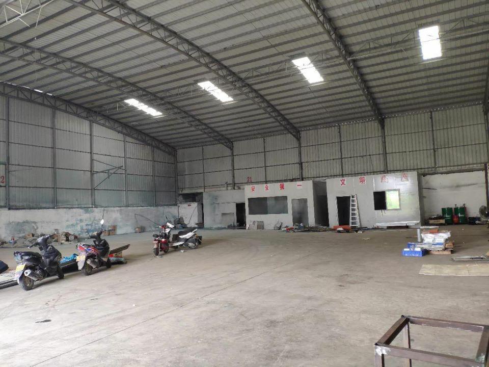 新塘镇太平洋工业区单一层钢构厂房仓库出租证件齐全