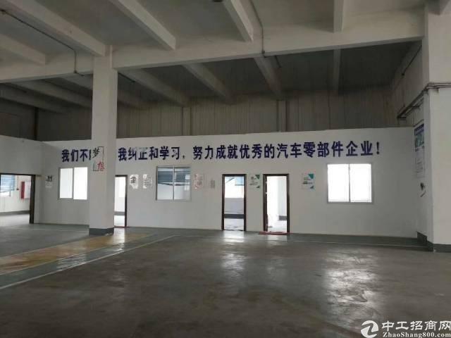 化龙镇新出标准厂房一楼招租,带现成地坪漆,证件齐全