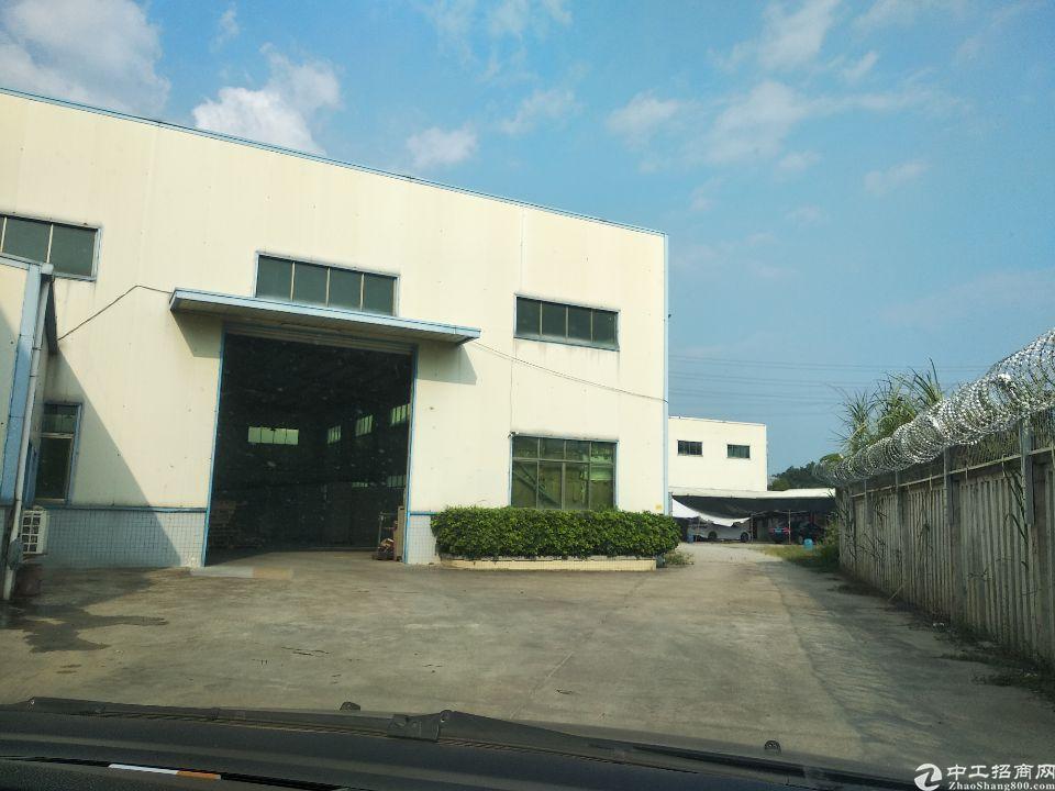 惠州惠东县大岭镇工业区新出独院钢构厂房2600平方招租