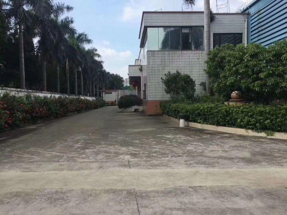 沙井独院物流仓库16000平米带卸货平台带宿舍和办公可分租
