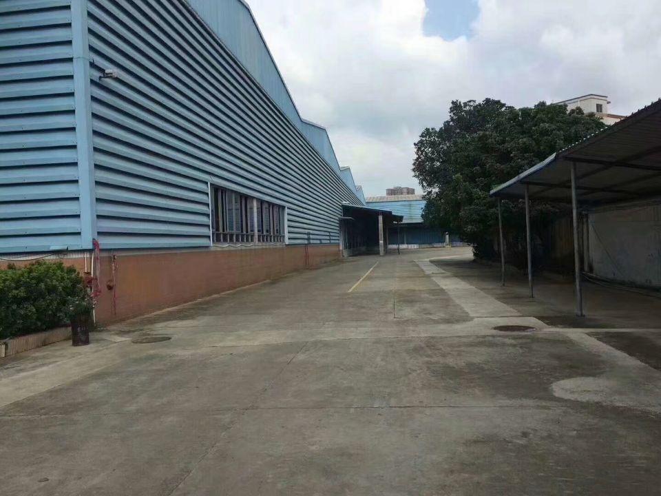 宝安沙井物流仓库,16000平,层高10米,带平台