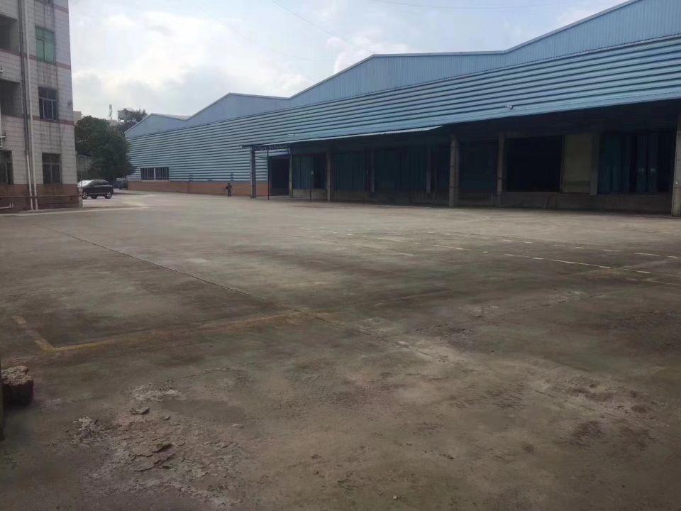 沙井独门独院物流仓库16000平米带卸货平台带有宿舍和办公