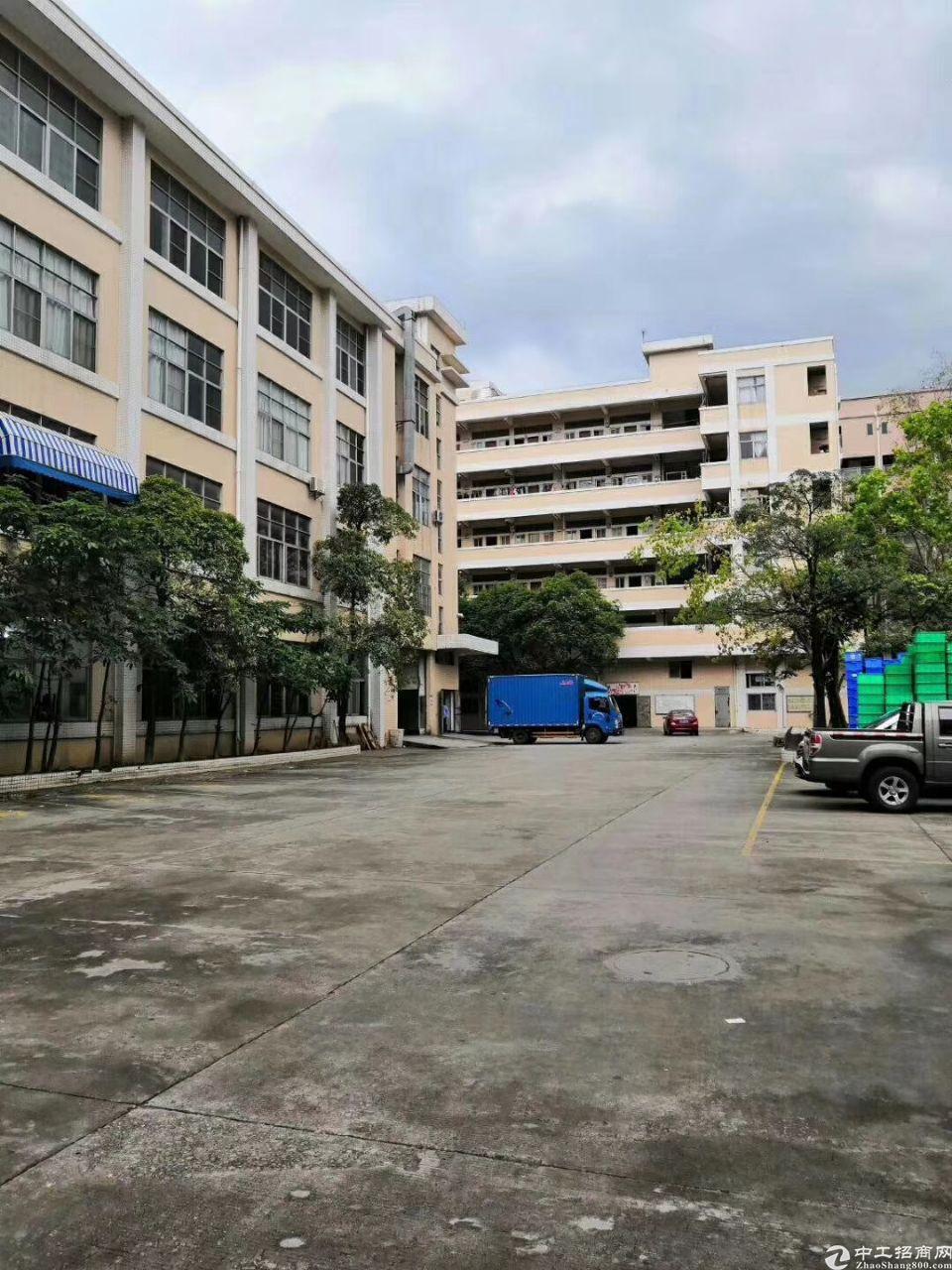 长安镇上沙村委厂房分租一楼二楼共2400平出租