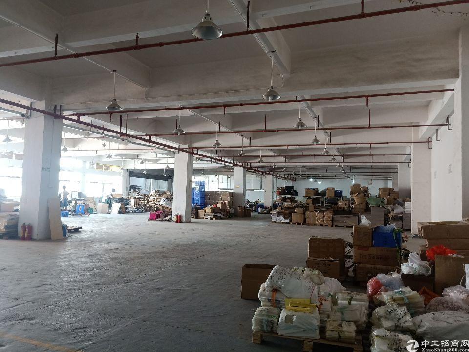 大岭山金桔工业园新出楼上一整层带装修厂房2300平出租