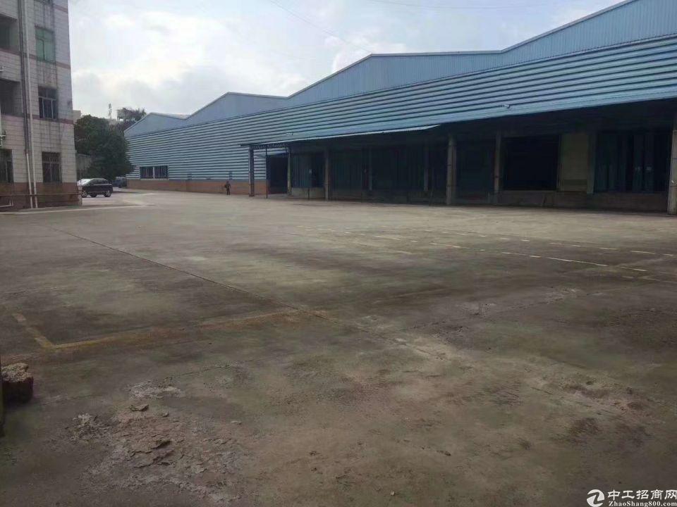 深圳沙井独门独院物流仓库招租 面积16000平米带卸货平台