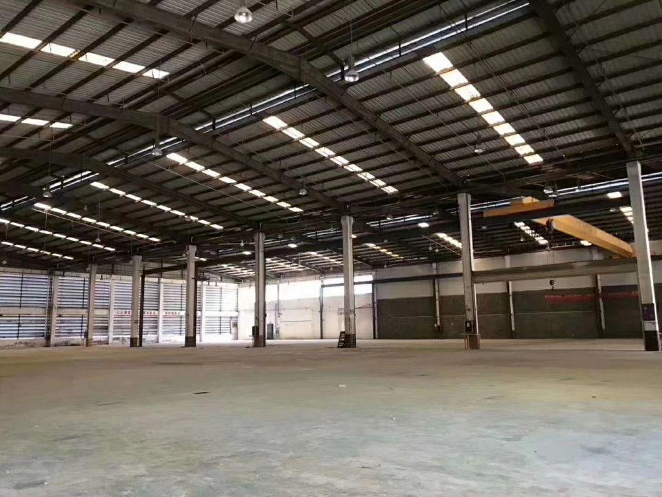 宝安沙井独门独院物流仓库16000平米带卸货平台、
