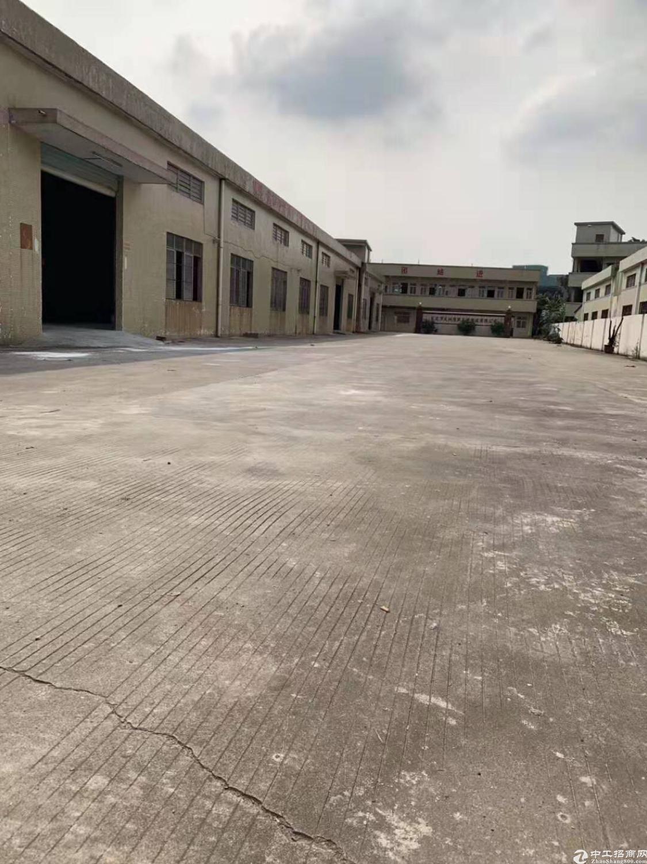 常平镇独门独院厂房3850空地2000周边无居民工业用地