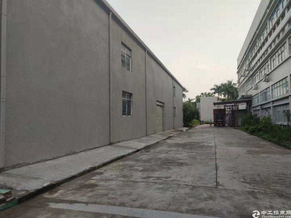 坪山碧岭钢构独院2100平米 适合仓库,五金等少量污染行