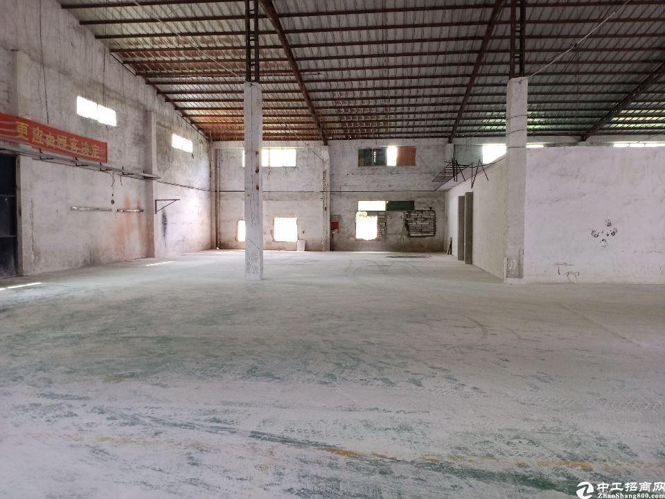 惠阳秋长秋宝路滴水7米原房东钢构厂房900平租