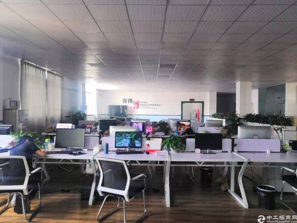 松岗地铁口附近新出原房东4楼整层1300平带豪华装修办公室-图7